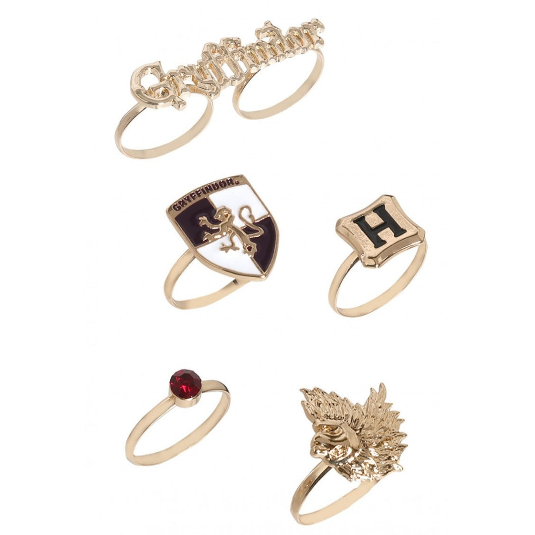 Harry Potter Gryffindor Ring  Set by EFG -EFG - India - www.superherotoystore.com