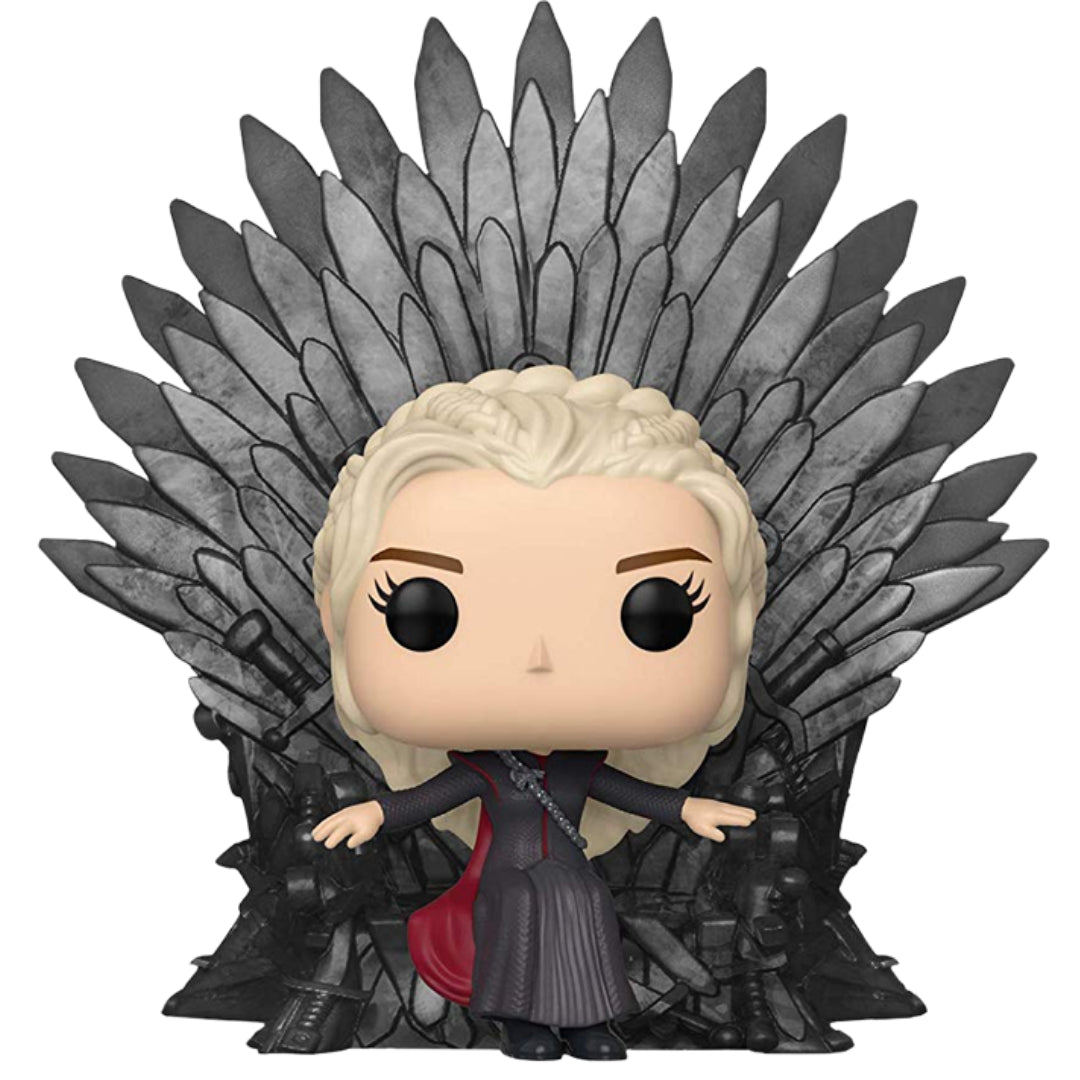 Game of Thrones: Daenerys on Throne Deluxe Pop! Vinyl FIgure by Funko -Funko - India - www.superherotoystore.com