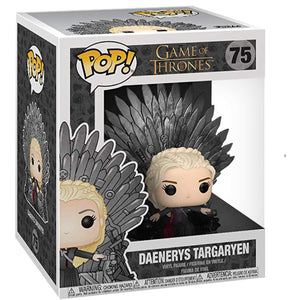 Game of Thrones: Daenerys on Throne Deluxe Pop! Vinyl FIgure by Funko