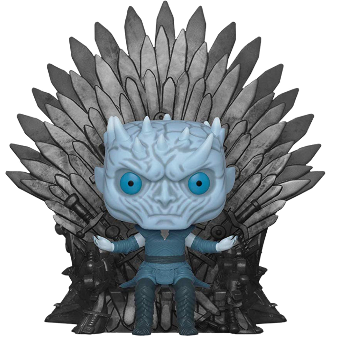 Game of Thrones Night King on Throne Deluxe Pop! Vinyl Figure by Funko