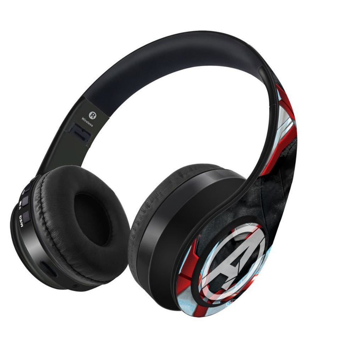 Avengers Endgame : Avengers Suit Wireless Headphones by Macmerise