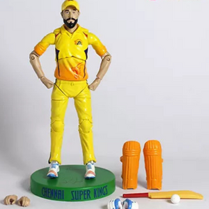 Chennai Super Kings Jadeja Action Figure by Lilliput Hub