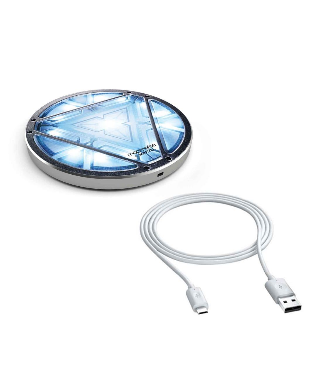 Iron Man Arc Reactor QI compatable Wireless Charger by Macmerise