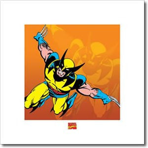 Wolverine Comics Art Print by Pyramid-Superherotoystore.com- www.superherotoystore.com-Posters