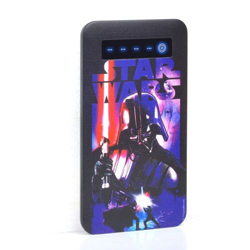 Star Wars Dark Slim PowerBank 4000mah-Thrumm- www.superherotoystore.com-Power Banks - 2
