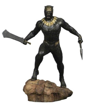 Marvel Gallery Black Panther Movie: Erik Killmonger Statue by Diamond Select Toys