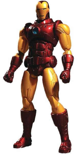 Iron Man One:12 Collective Action Figure by Mezco Toys 14