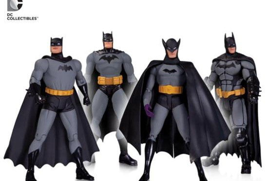 Batman 75th Anniversary Action Figure 4 Pack-DC Collectibles- www.superherotoystore.com-Action Figure - 1