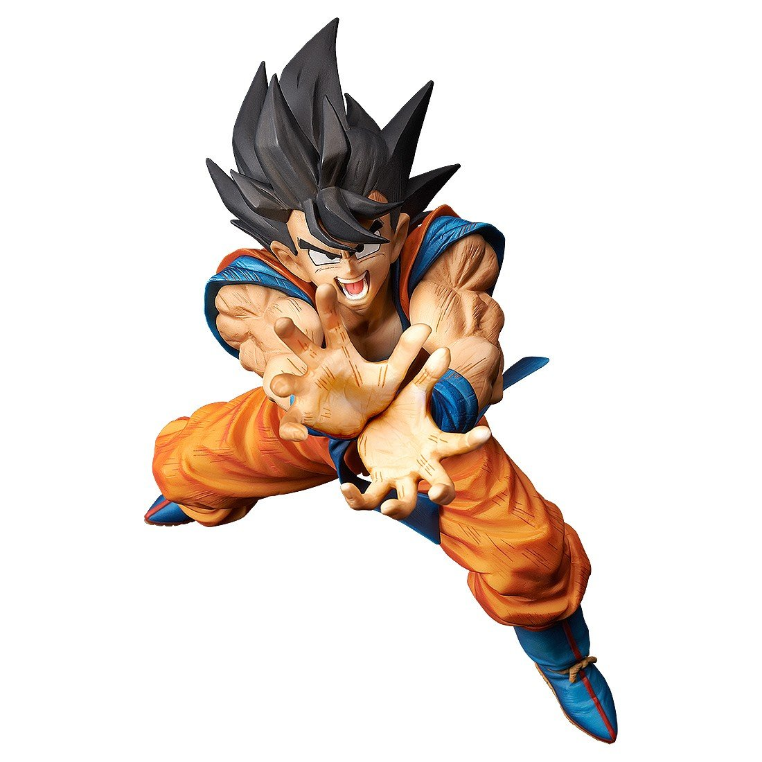 Dragon Ball Z Son Goku Kamehameha Statue by Banpresto -Banpresto - India - www.superherotoystore.com