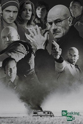 Breaking Bad (Up In Smoke) Paper Print  Maxi Poster-Superherotoystore.com- www.superherotoystore.com-Posters