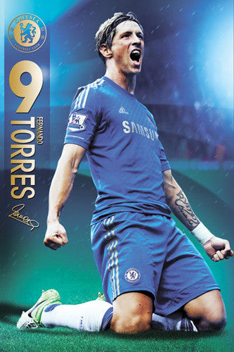 Chelsea - Torres Maxi Poster -Superherotoystore.com - India - www.superherotoystore.com