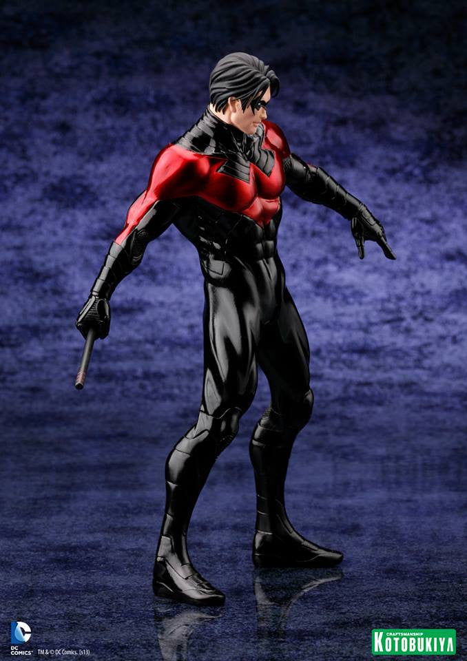 DC Comics Justice League New 52 Nightwing 1/10 Artfx Statue-Kotobukiya- www.superherotoystore.com-Action Figure - 4