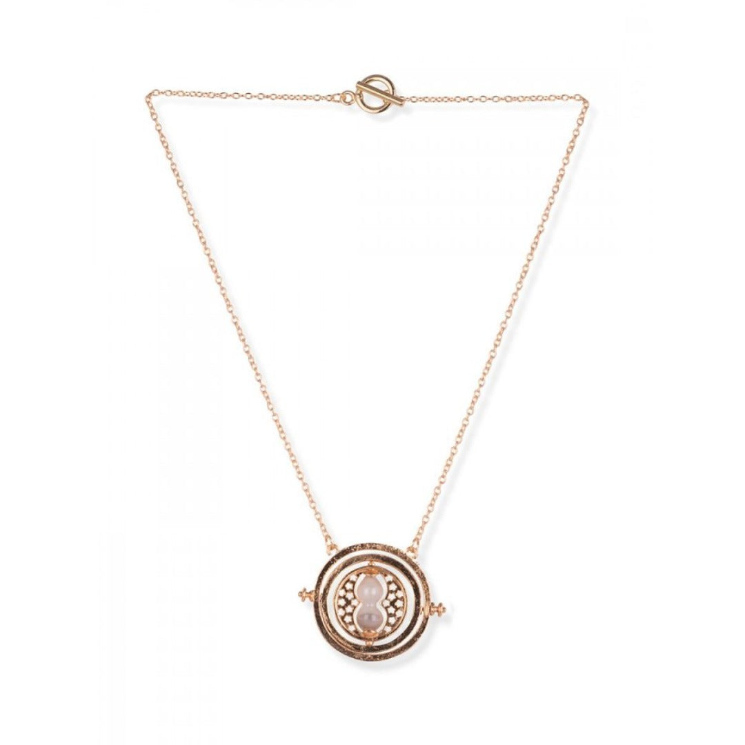 Harry Potter: Small Time Turner Gold Necklace -EFG - India - www.superherotoystore.com
