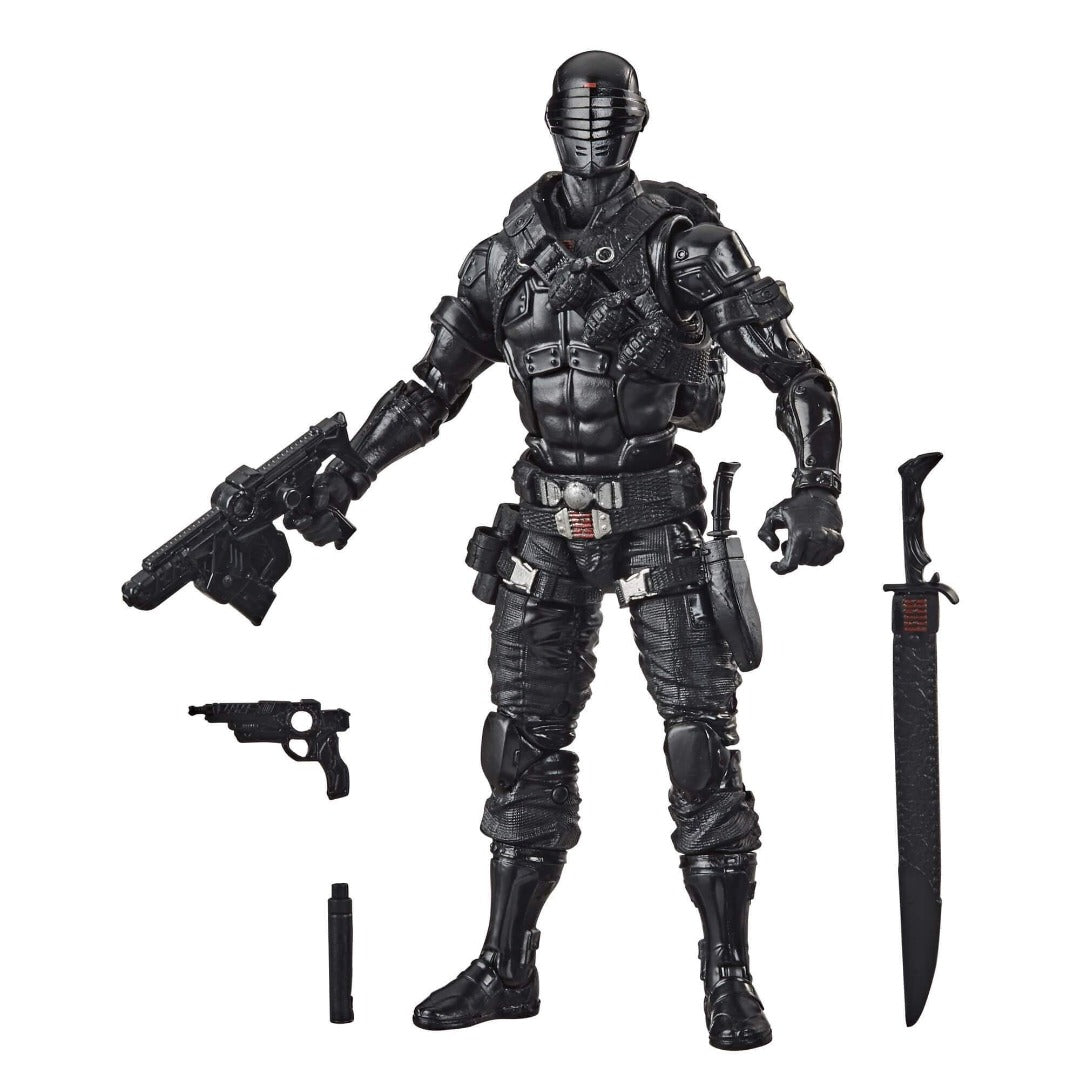 GI Joe Classified Series Snake Eyes Action Figure by Hasbro -Hasbro - India - www.superherotoystore.com