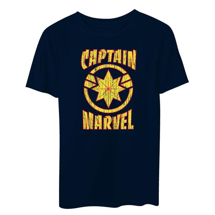Captain Marvel Logo T-Shirt -Superherotoystore.com - India - www.superherotoystore.com