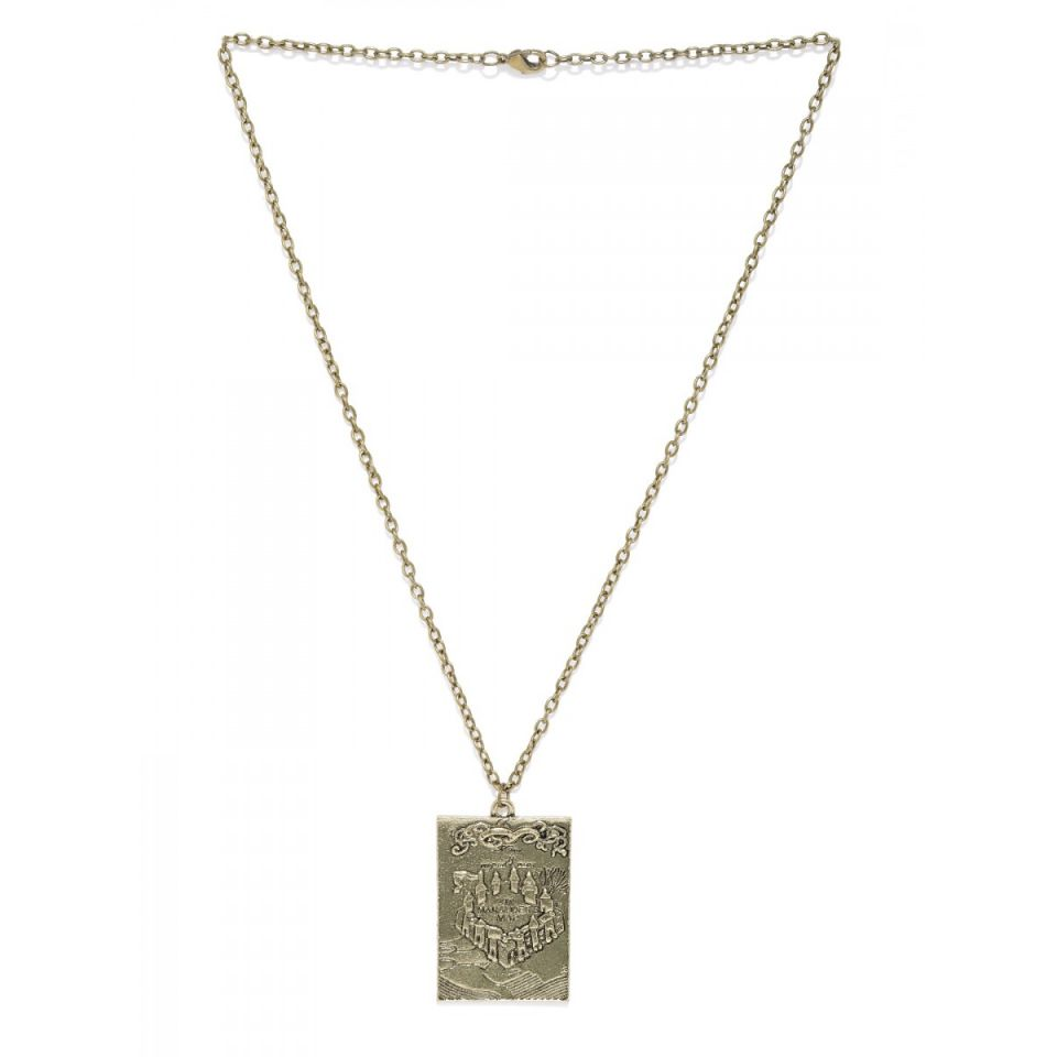 Harry Potter Marauders Map Openable Necklace by EFG -EFG - India - www.superherotoystore.com