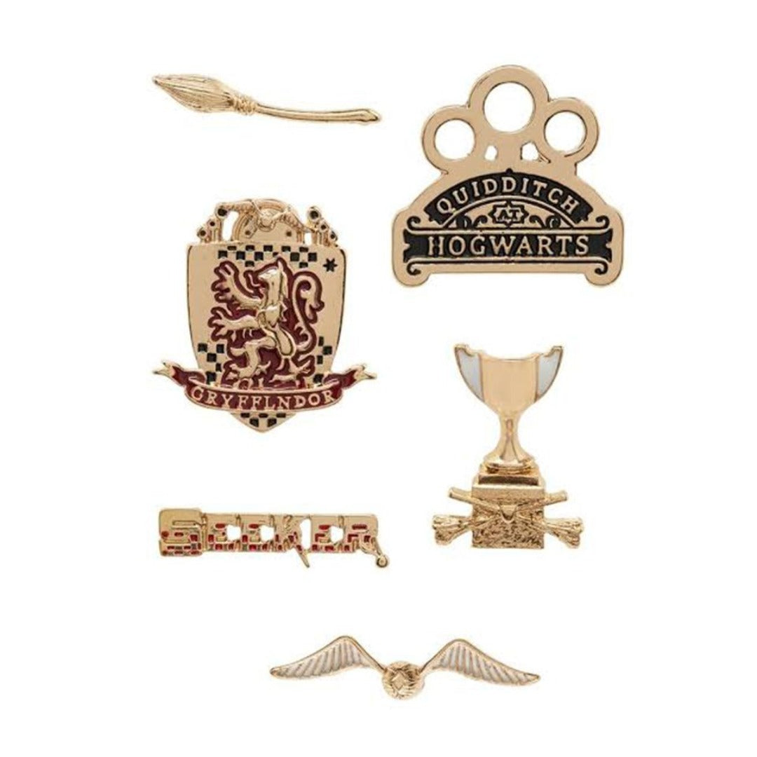 Harry Potter Seeker Gryffindor House Pin Set -EFG - India - www.superherotoystore.com