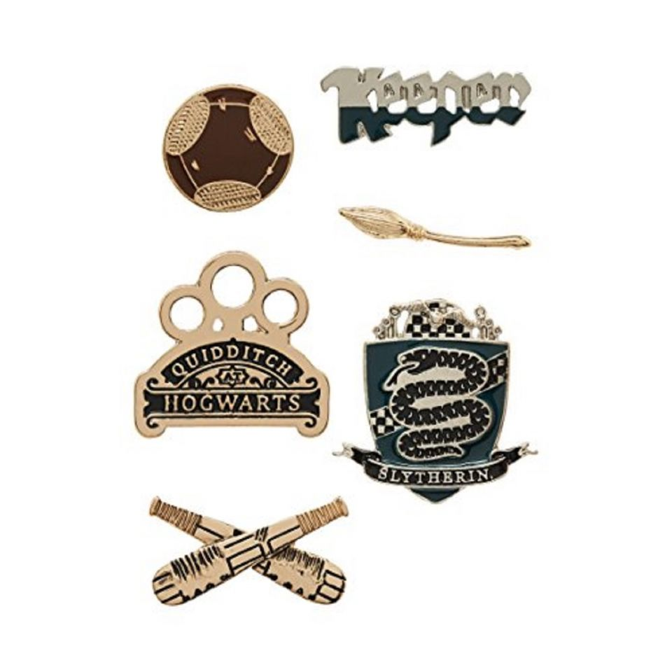 Harry Potter Slytherin Keeper House Pin Set by EFG -EFG - India - www.superherotoystore.com