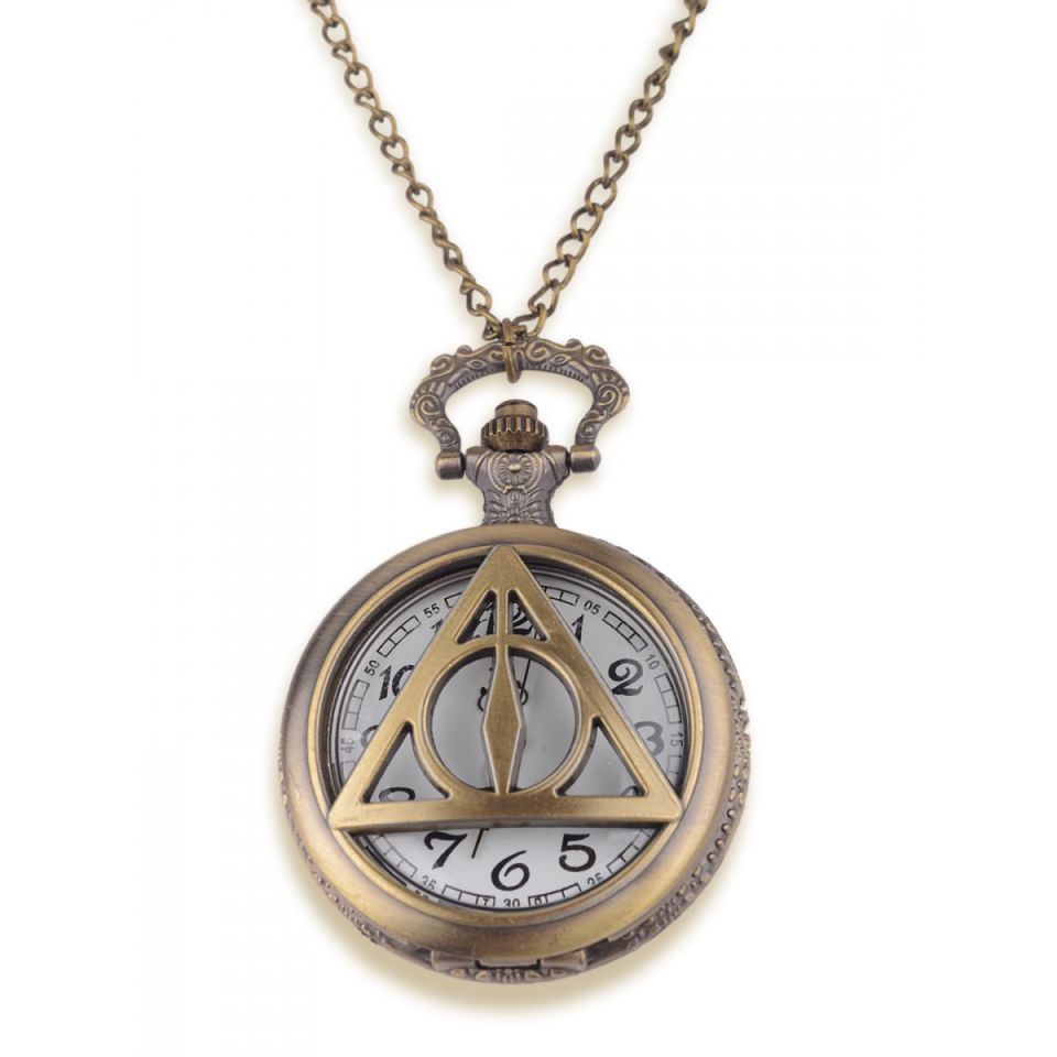 Harry Potter Deathly Hallows Pocket Watch by EFG -EFG - India - www.superherotoystore.com