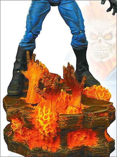 Marvel Select Ghost Rider-Diamond Select toys- www.superherotoystore.com-Action Figure - 3