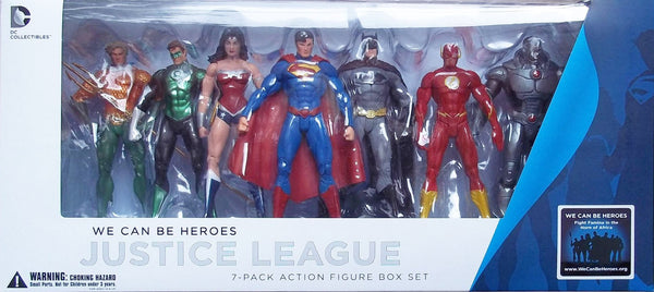 New 52 Justice League 7 Pack by DC Collectibles-DC Collectibles- www.superherotoystore.com-Action Figure - 1