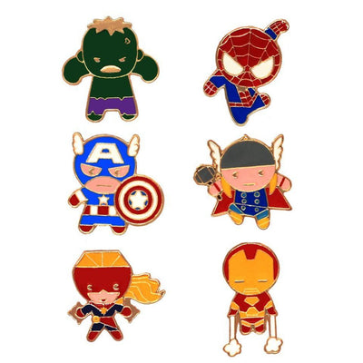 Avengers Character Pin Set by EFG -EFG - India - www.superherotoystore.com