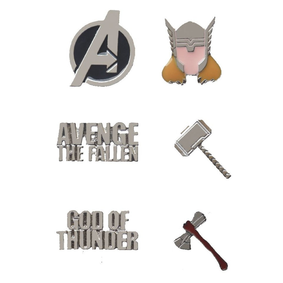 Marvel Comics Avengers Thor Pin Set -EFG - India - www.superherotoystore.com