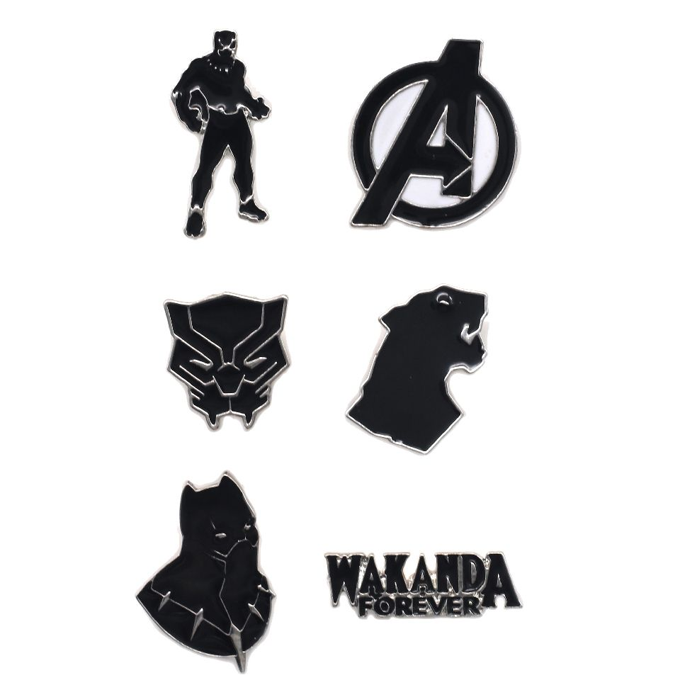 Avengers Black Panther Pin Set by EFG -EFG - India - www.superherotoystore.com