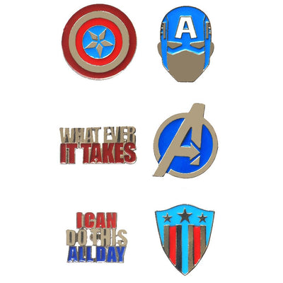 Avengers Captain America Pin Set by EFG -EFG - India - www.superherotoystore.com