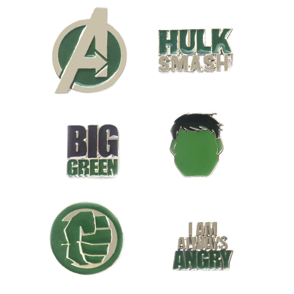 Avengers Hulk Pin Set by EFG -EFG - India - www.superherotoystore.com
