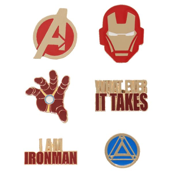 Avengers Iron Man Pin Set by EFG -EFG - India - www.superherotoystore.com