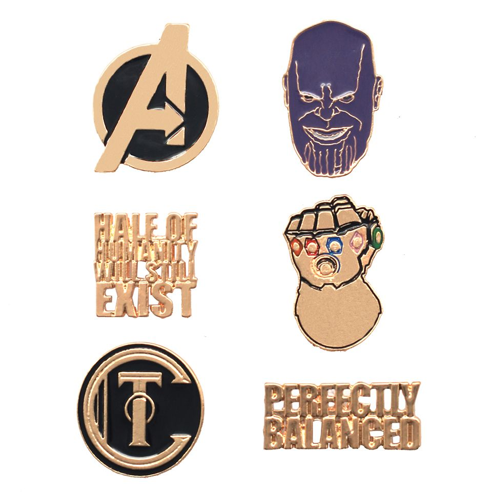 Avengers Thanos Pin Set by EFG -EFG - India - www.superherotoystore.com