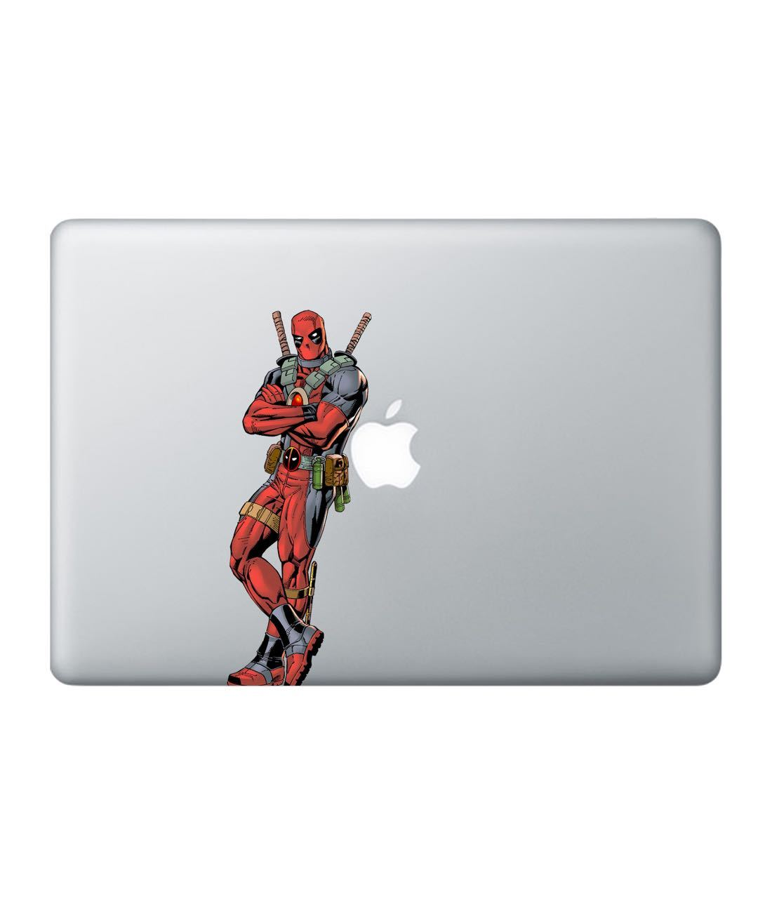 Deadpool Chill Laptop Decal by Macmerise -Macmerise - India - www.superherotoystore.com