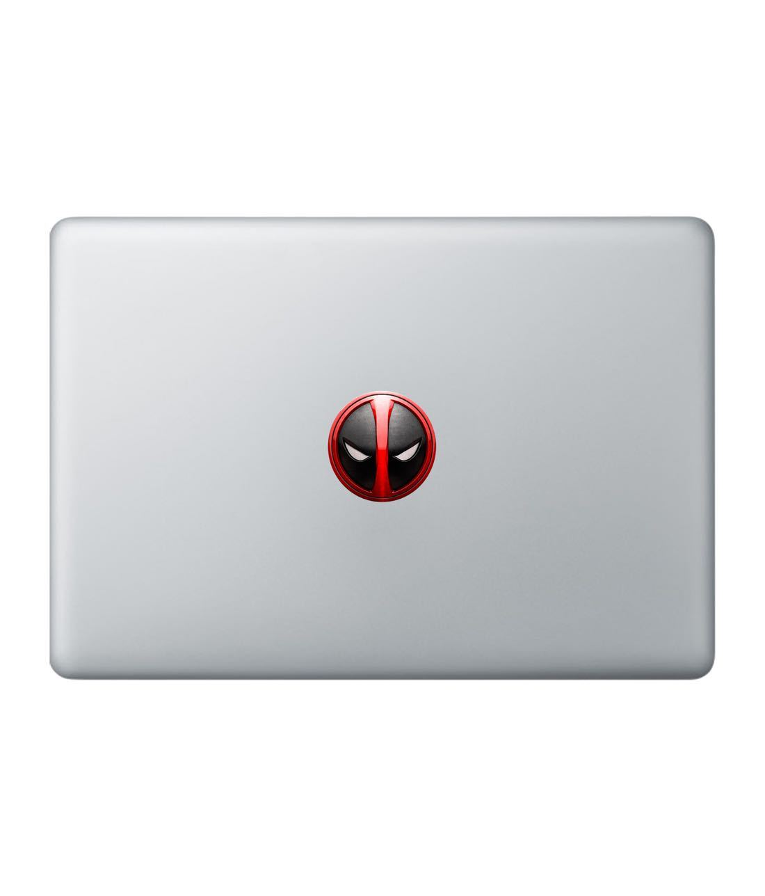 Minimalistic Deadpool Laptop Decal by Macmerise