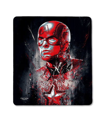 Charcoal Art Captain America - Mouse Pad by Macmerise -Macmerise - India - www.superherotoystore.com