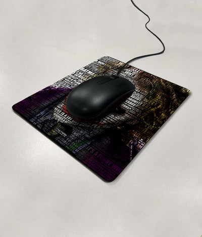 Joker Quotes - Mouse Pad by Macmerise -Macmerise - India - www.superherotoystore.com