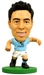 Nasri - Manchester City Home Kit-Soccer Starz- www.superherotoystore.com-Action Figure - 1