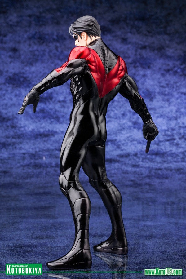 DC Comics Justice League New 52 Nightwing 1/10 Artfx Statue-Kotobukiya- www.superherotoystore.com-Action Figure - 5