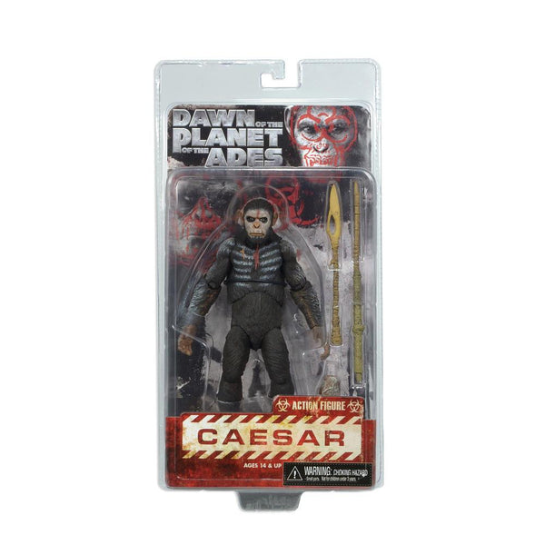Dawn of the Planet of the Apes 7 inch Scale Action Figure - Caesar-NECA- www.superherotoystore.com-Action Figure - 1