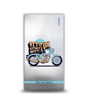 Attitude Starts with a Kick 4000 Mah Power bank by Macmerise