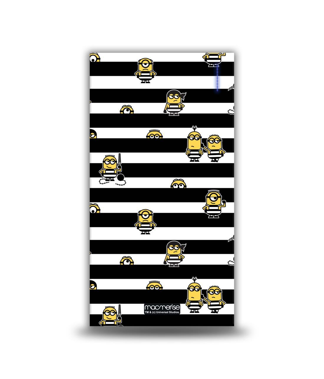 Minions Black Stripes 4000 MAH Power Bank by Macmerise