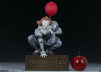 IT 2017: Pennywise Maquette by Tweeterhead -Sideshow Collectibles - India - www.superherotoystore.com