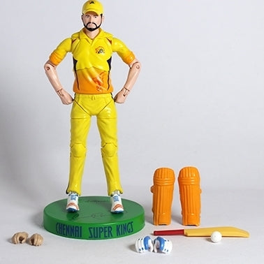 Chennai Super Kings Suresh Raina Action Figure by Lilliput Hub