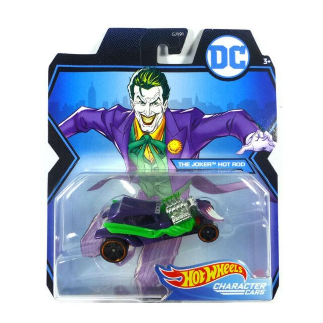 DC Comics Character Cars: Joker 1:64 Scale Die-Cast Car by Hot Wheels -Hot Wheels - India - www.superherotoystore.com