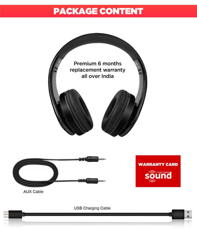 Friends Infographic - Decibel Wireless On Ear Headphones -Macmerise - India - www.superherotoystore.com