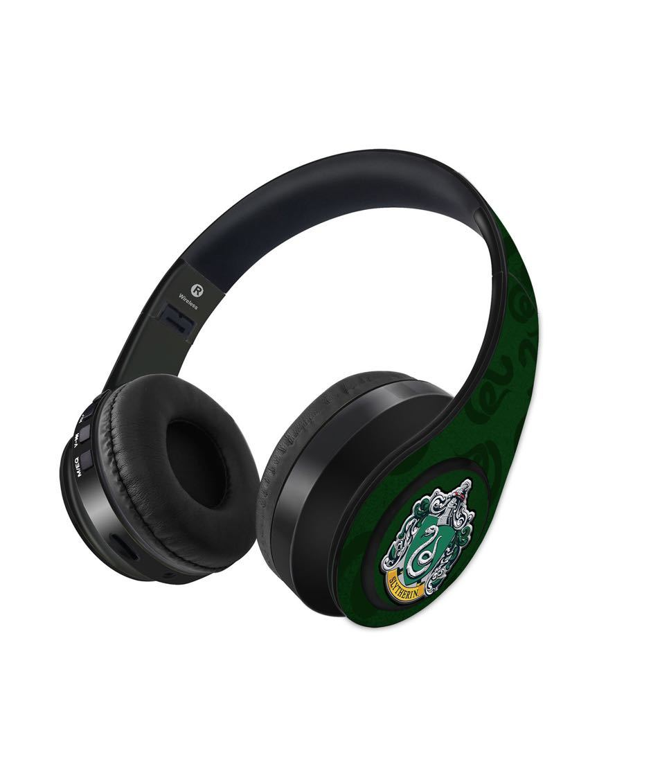 Crest Slytherin - Decibel Wireless On Ear Headphones