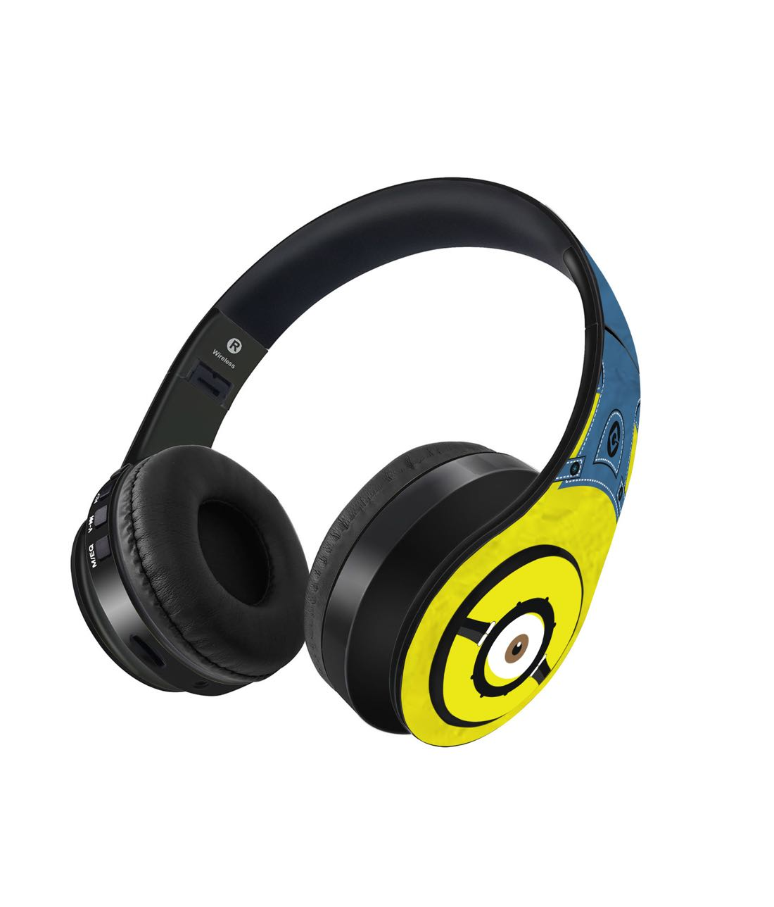 Denim Minion - Decibel Wireless On Ear Headphones -Macmerise - India - www.superherotoystore.com
