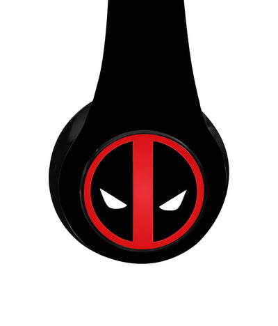 Face Focus Deadpool - Decibel Wireless On Ear Headphones