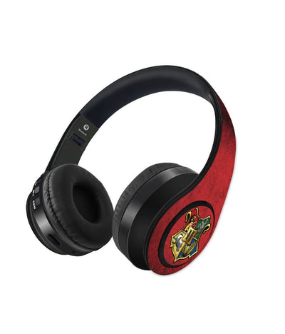 Hogwarts Sigil - Decibel Wireless On Ear Headphones -Macmerise - India - www.superherotoystore.com