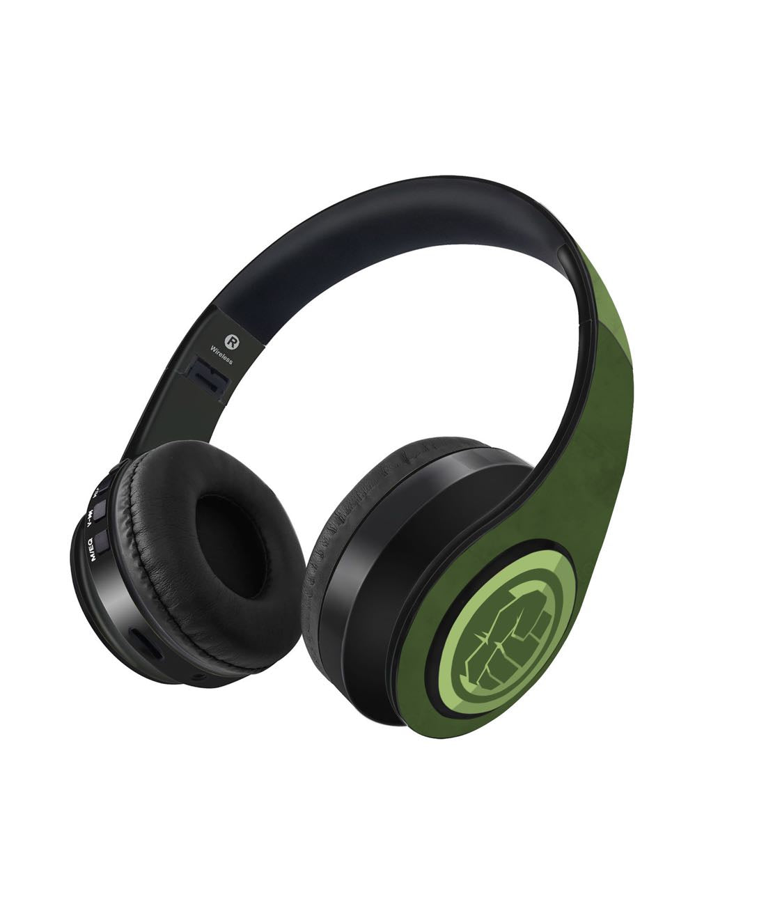 Iconic Hulk Logo- Decibel Wireless On Ear Headphones